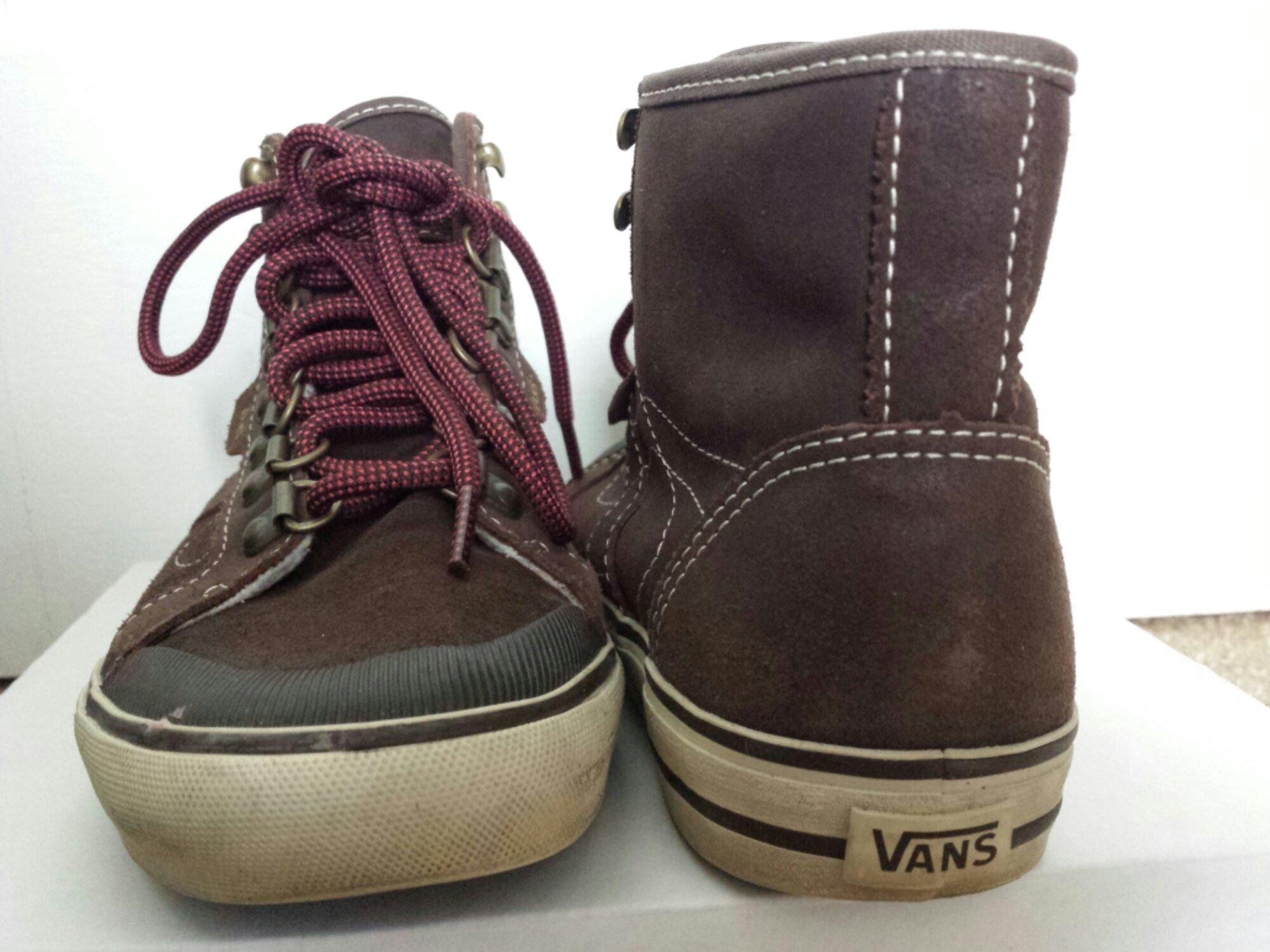 vans hiking boots
